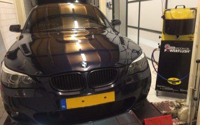 BMW 535D Automaatbak Spoelen