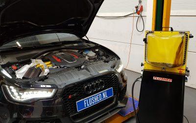 Audi RS6 Automaatbak Spoelen
