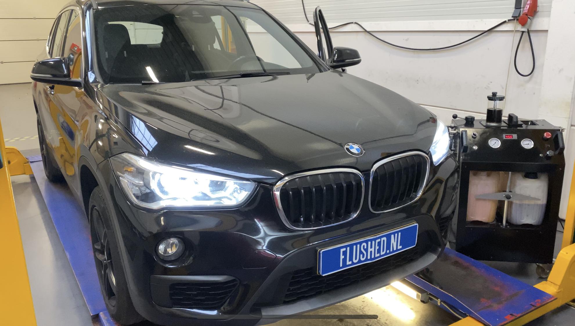BMW X1 Automaatbak Spoelen