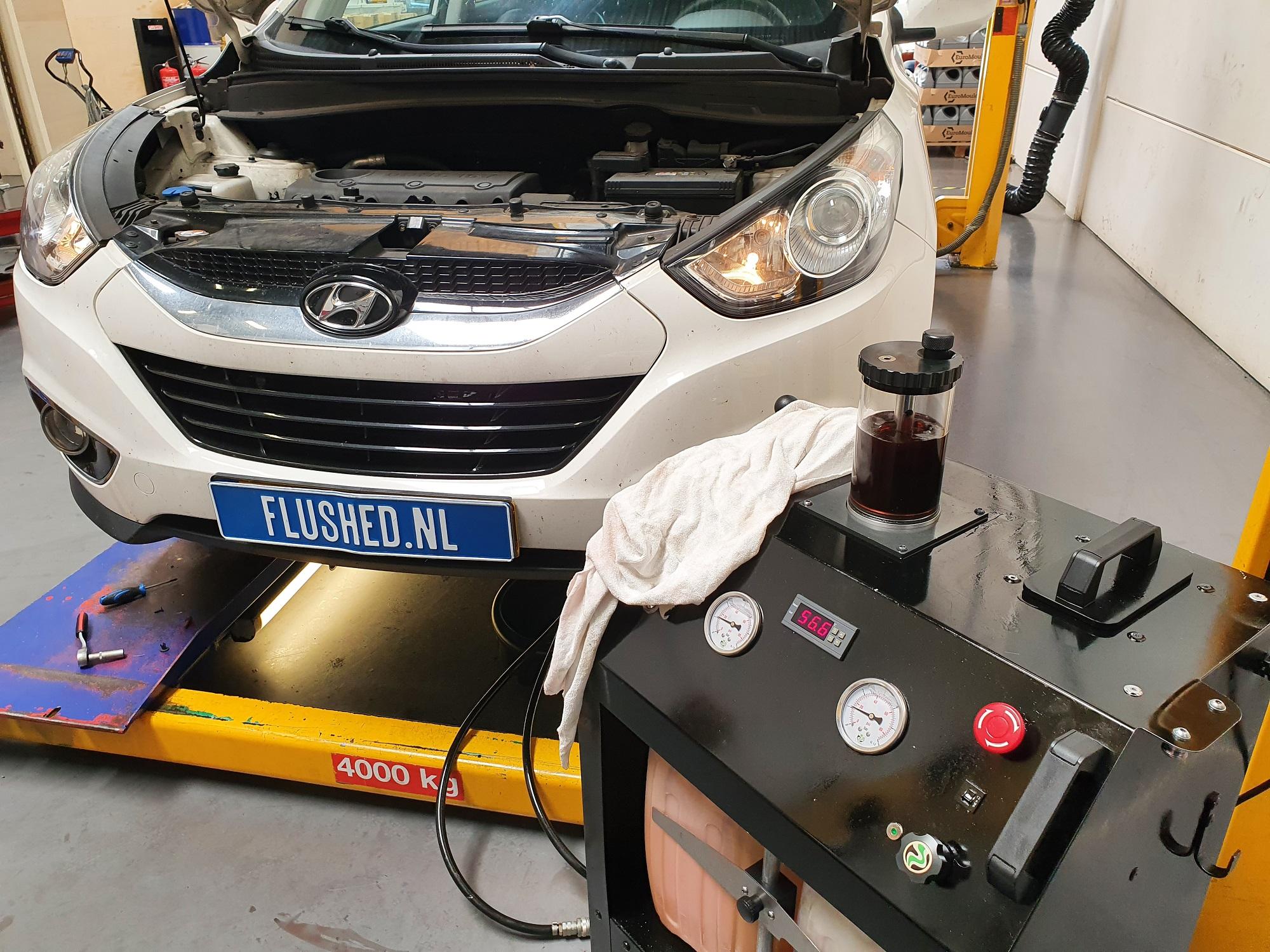 Hyundai Automaatbak Spoelen