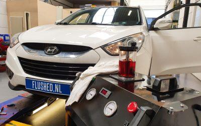 Hyundai Tucson Automaatbak Spoelen