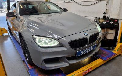 BMW 640i Automaatbak Spoelen