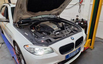 BMW M550D Automaatbak Spoelen