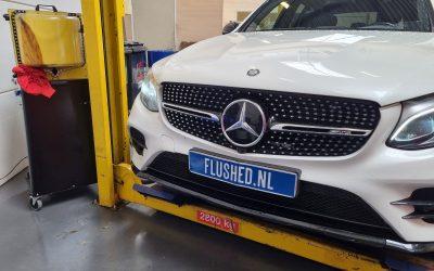 Mercedes AMG GLC 43 Automaatbak Spoelen