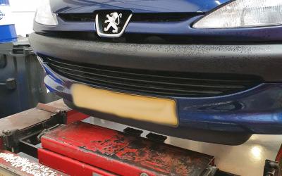 Peugeot 206 Automaatbak Spoelen