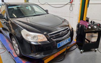 Chevrolet Epica Automaatbak Spoelen