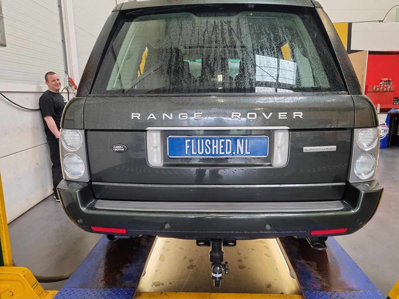 Range Rover Automaatbak Spoelen