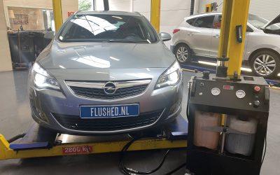 Opel Astra Automaatbak Spoelen